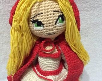 PATTERN - Red Riding Hood Girl