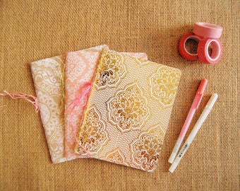 Set of 3 Mini Journals/ Notebooks