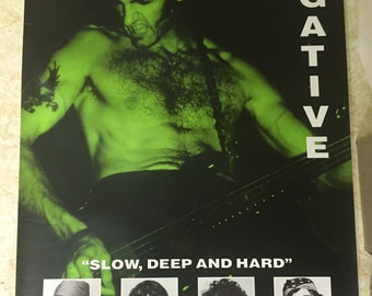 Type O Negative Vintage Poster RARE