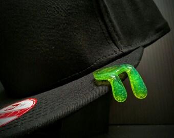 Green Slime Brim Drip Hat Pin™