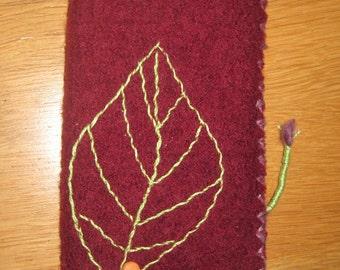 Handy Pocket natural textile design      handmade