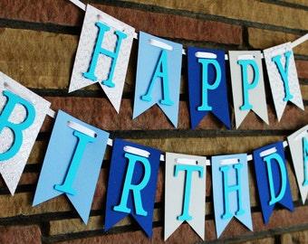 Happy Birthday Banner, Happy 1st Birthday, 2nd Birthday