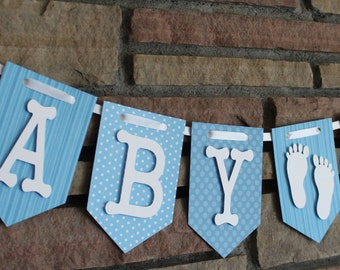 Banner, Baby Shower Banner, Baby Boy Banner, Baby Shower Decorations