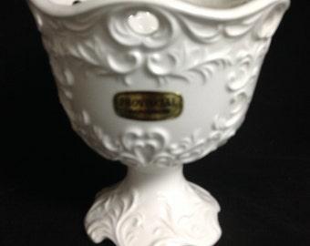 Napco Provincial Compote Vintage Compote Napco Candy Dish Vintage Soap Dish Napco Vase Vintage Vase Vintage Compote