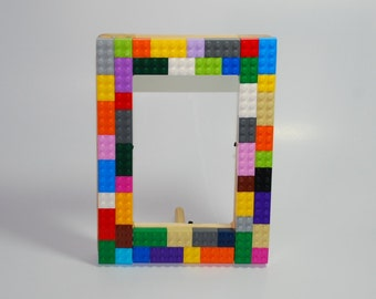 Lego® 4x6 Wooden Picture Frame- Multicolor - Rainbow