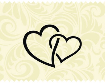 Hearts in love - svg - ai - dxf - cdr - pat - jpeg -png -pdf -wmf -docx - Ready to Print  -Cricut - Vinyl Cutting - Laser Engraving