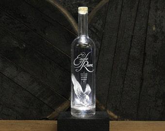 Eagle Rare Bourbon LED Light/ Whiskey Bottle Light / Unique Whiskey Gift, Bourbon Lamp, Bourbon Gift, Gift For Men, Guy Gift, Man Cave Gift