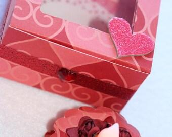 Valentine Tea Light Cake