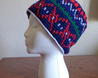 Handmade Winter Patterned hat