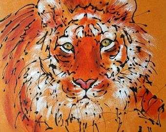 "Painting "" Bengal Tiger """
