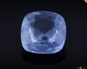 Blue Sapphire 0.97ct. Natural UNHEATED blue Sapphire loose gemstone Cushion cut faceted stone Ceylon Sapphire for ring see VIDEO