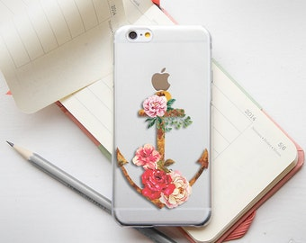 iPhone 4 Case Clear Floral iPhone 4S Case Clear Floral iPhone 6S Plus Case Clear Floral Transparent Samsung Galaxy Note 5 Case Clear Floral