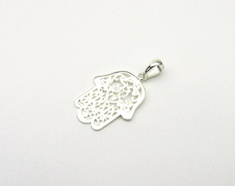 OM ohm Fatima hand jewellery charms Silver 925 Kabbalah