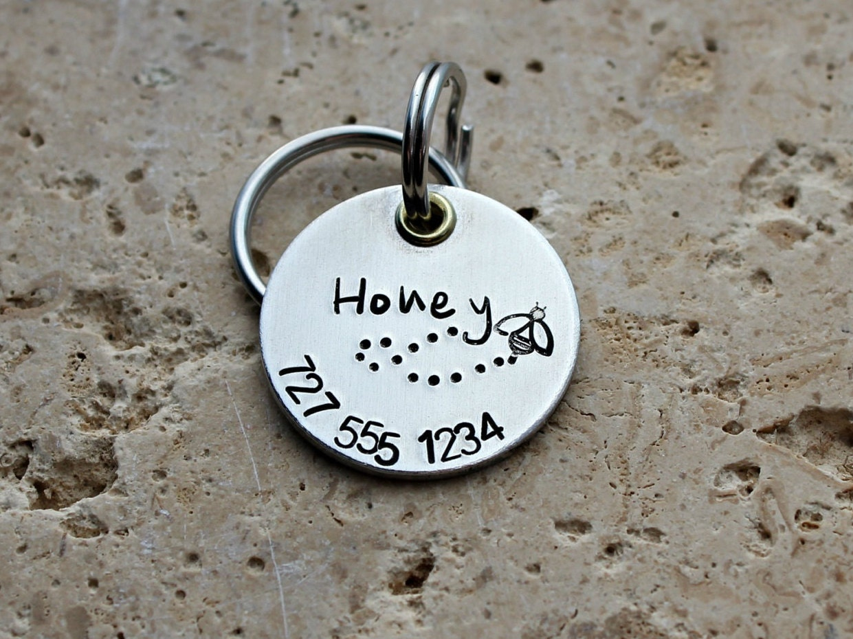 dog tag pet id tag pet name tag dog collar tag. Black Bedroom Furniture Sets. Home Design Ideas