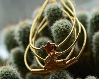 Gold Bracelet Set Gold Stretch Bracelets Golden Stacking Mix and Match Bracelets Tube Bracelets Beaded Bracelet Metallic Star Strass Beads