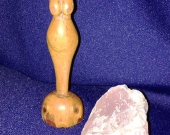 Hand Carved Goddess