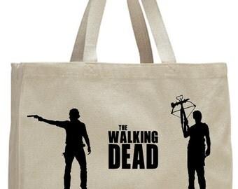 The Walking Dead Rick & Daryl Tote Bag