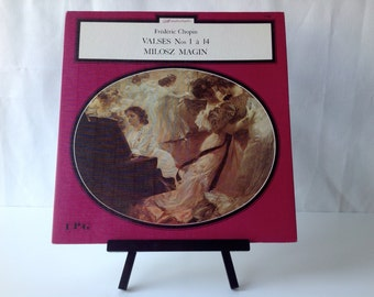 French classical vinyl CHOPIN, Valses EP