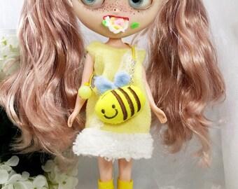 Blythe factory doll, customized