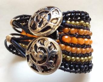 New model! Two button bracelet