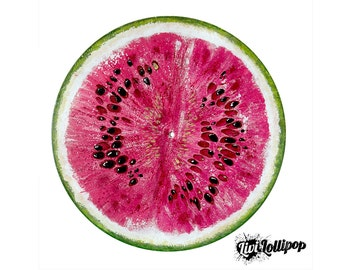 Watermelon Painting Etsy