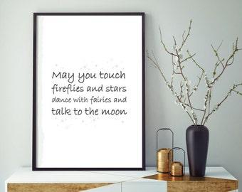 Print fireflies