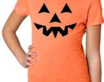 Pumpkin Face- children's