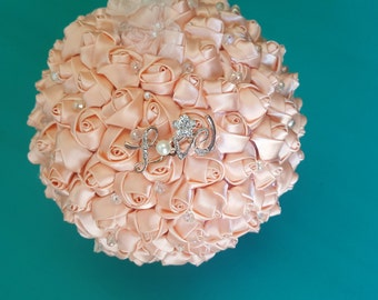 flower girl pomander ball