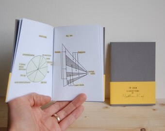 To Eden: a booklet of diagram poems | limited edition artists book, poetry zine