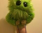 customer order for Jennifer (Lime Green Monster)
