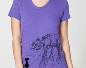 My Star Wars AT-AT Pet - Women tshirt, women top, graphic tee, gift for girlfriend, gift for mom, gift for daughter, star wars funny shirt