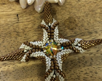 Stitched Star Necklace