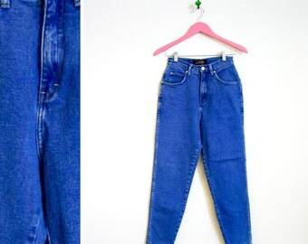 Vintage 1980s-90s High Waisted Blue Jeans by L A Blues Size 8