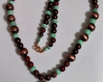 Red Rainbow Jasper Pendant Necklace Handmade One of a Kind