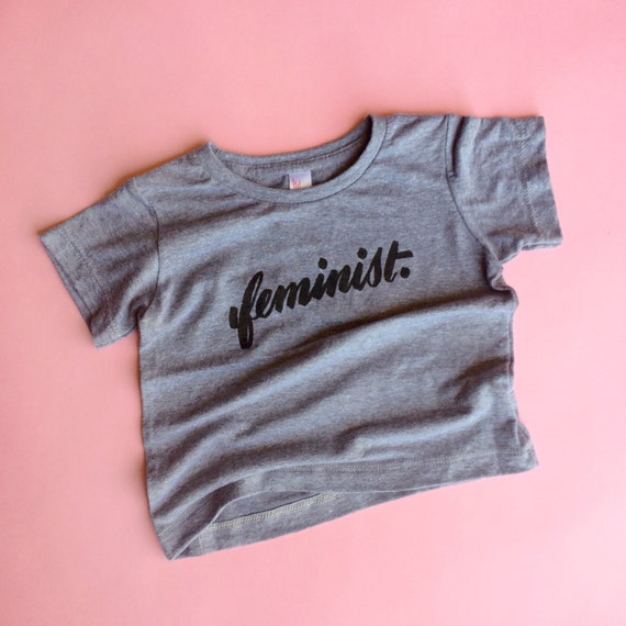 Little Big F feminist tees for babies & kids