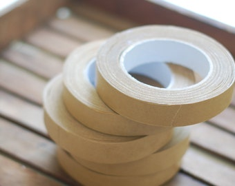 "KRAFT Paper Packing Tape - 1"" Packaging Tape - 60 Yard Roll"