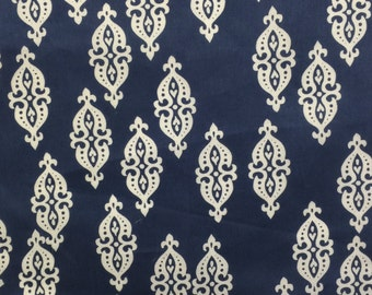 Dear Stella Navy SATEEN Fabric - more yardage available