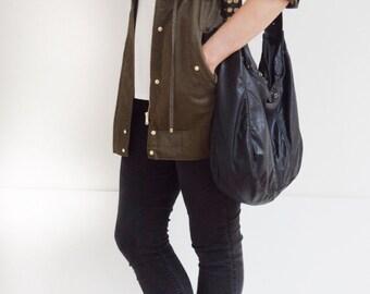 Veronica Mars Bag - Leather Purse - Detailed Front & Back (Large), Messenger bag, Cross Body Purse, Borse, Bourse, Cuir, Bolso Cuero, Tasche
