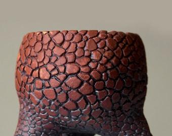 Red Dinosaur Pot