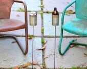2 Hobo Tin Can Beer Holders/ Garden Drink Holders