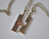 Doctor Who TARDIS Necklace Set - Free Shipping