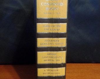 Hardcover-Reader's Digest Condensed Books Volume 5 ~ 1975