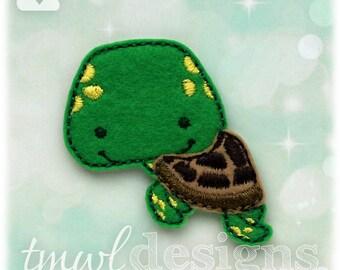 """Sea Turtle Feltie Digital Design File - 1.75"""""""