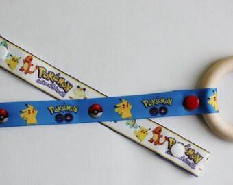 Pokemon Paci-Catcher | Pokemon Go Paci-Catcher | Pikatchu Pacifier Clip | Gotta Catch Them All Pokemon Baby Pacifier Clip