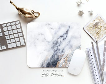 Mouse Pad Mousepad Faux White Marble Print Mouse Mat Mouse Pad Office Mousemat Rectangular Mousemat White Marble Print Mousepad Round 71.