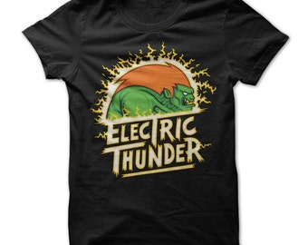 Electric Thunder - Street Fighter T-Shirt