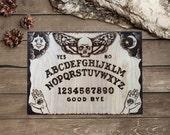 Ouija Board / Pyrography Art / Dark Art / Wood Burning Ouija / Wood Decor/ Pyrografie Kunst/ Hout Branden / hand created by TimberleeEU