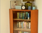 Vintage Sideboard TV Stand Bookcase Mid Century Danish corner b