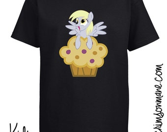 Derpy Hooves MLP:FiM My Little Pony Muffin T-shirt