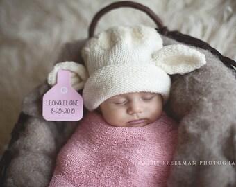 Newborn to 3 Months Little Lamb Hat